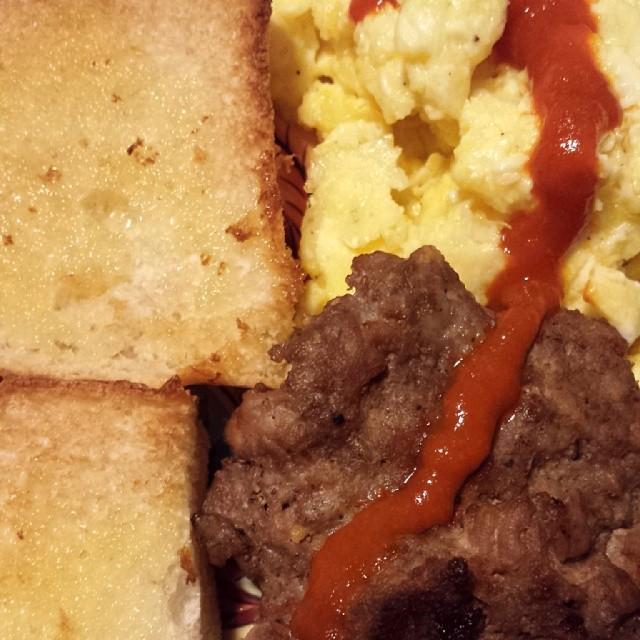 Egg Sausage Toast