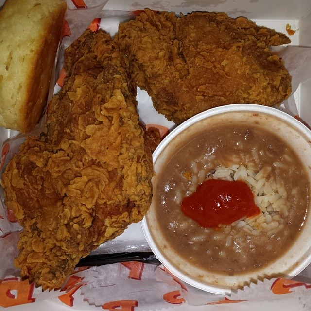 Popeyes Chicken and RBR