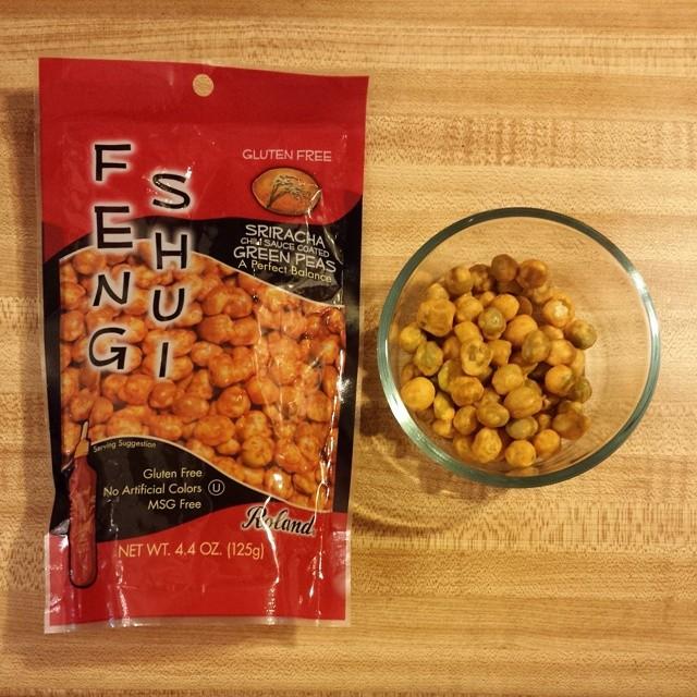 Feng Shui Sriracha Peas