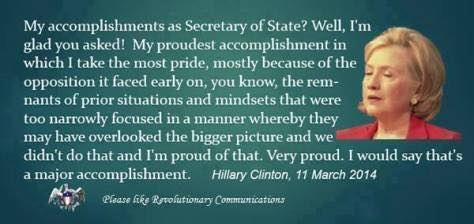 accomplished hillary