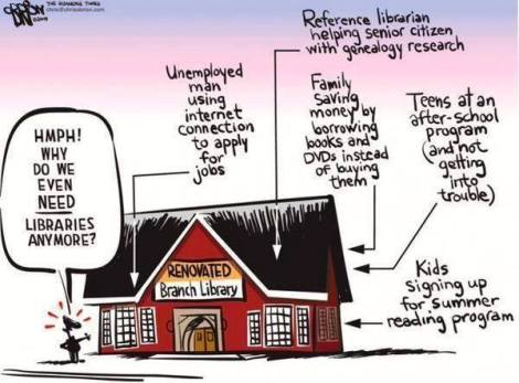 do we need libraries