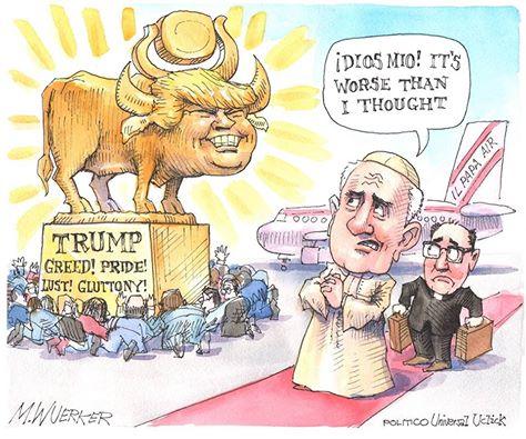 golden calf trump