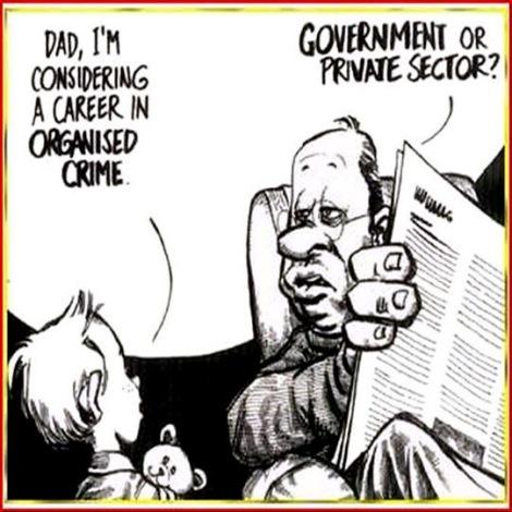 cartoon organised crime