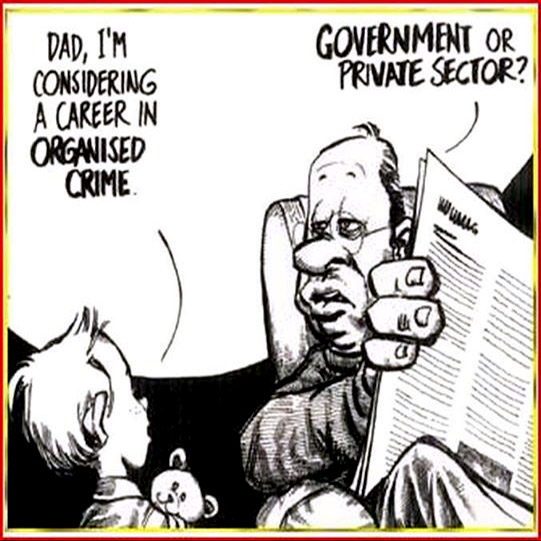 cartoon organised crime