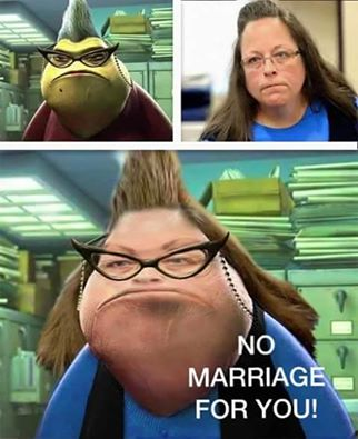 kim davis no marriage