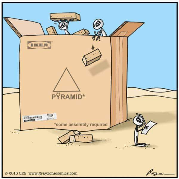 pyramid some assy req