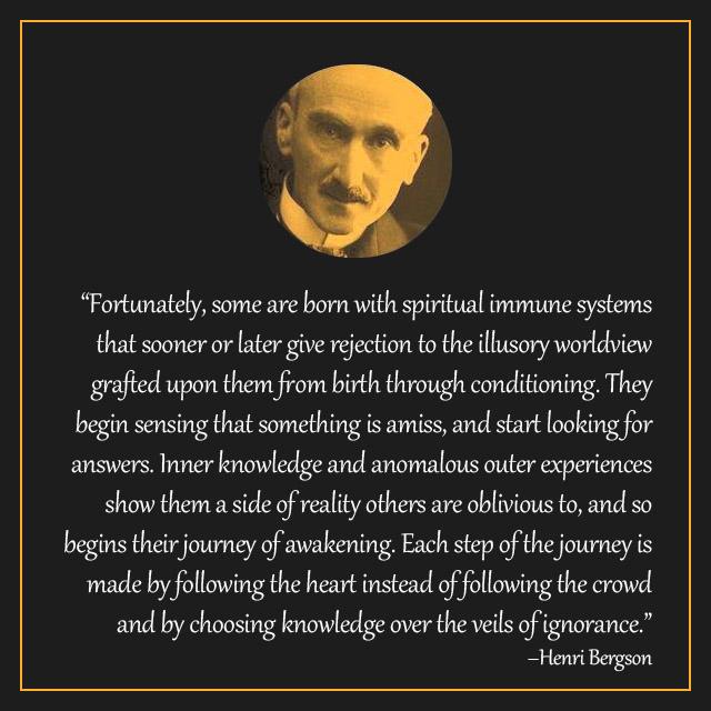 Bergson Quote