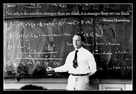 heisenberg on the universe